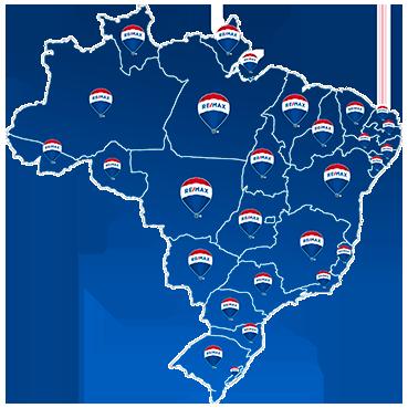 Mapa RE/MAX Brasil
